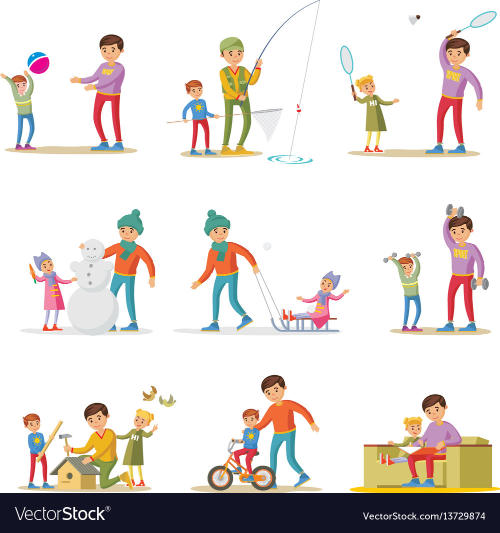 Fatherhood elements set