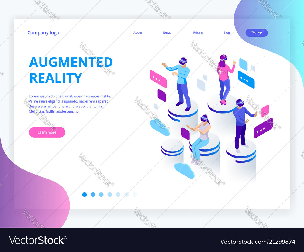 Isometric virtual reality augmented reality