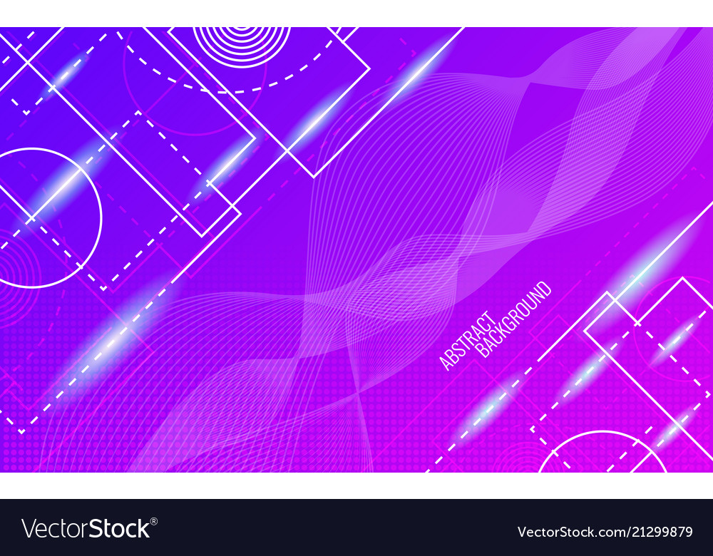 Abstract background dynamic glowing shapes