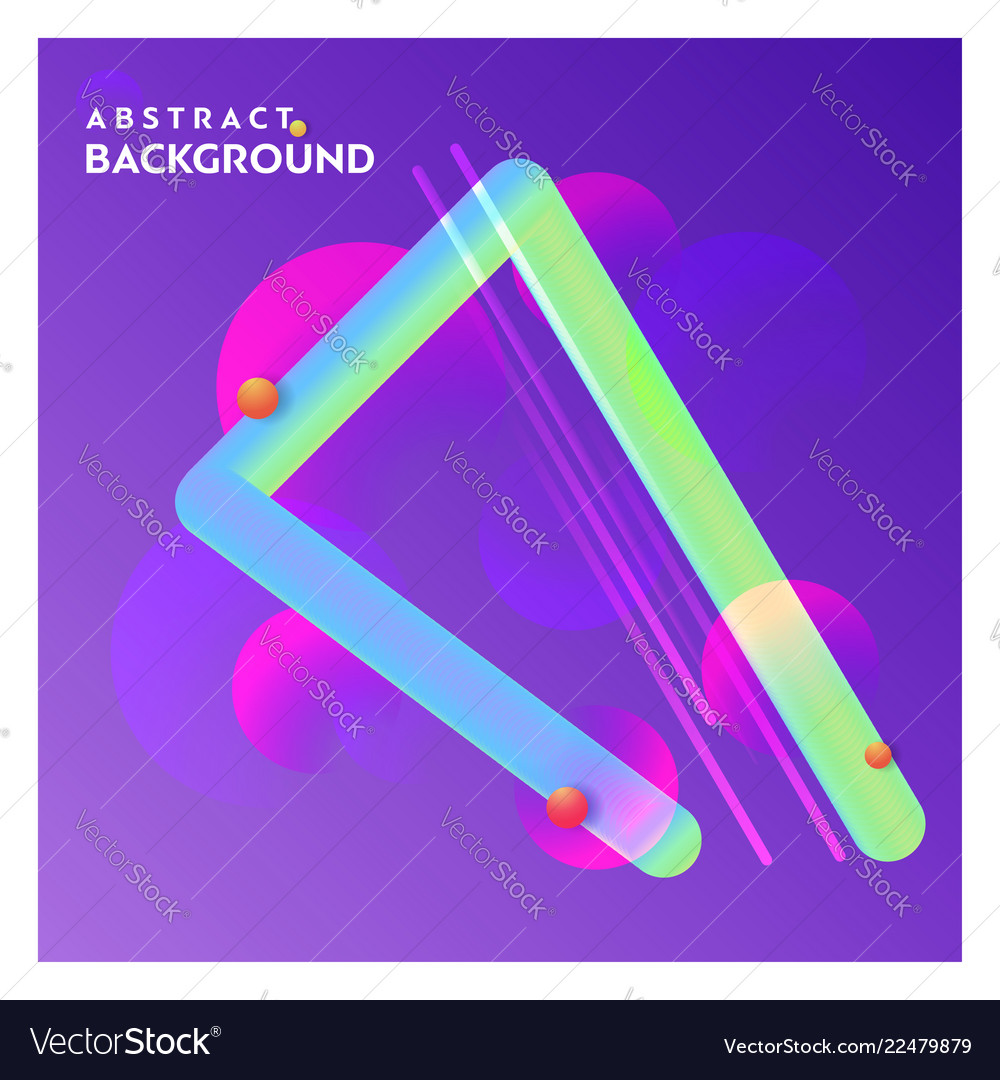 Abstract line background with purple background