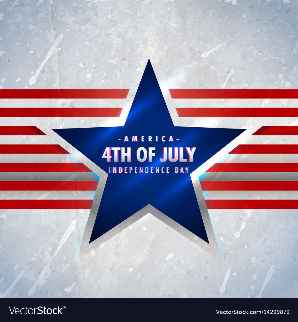 American 4th july background