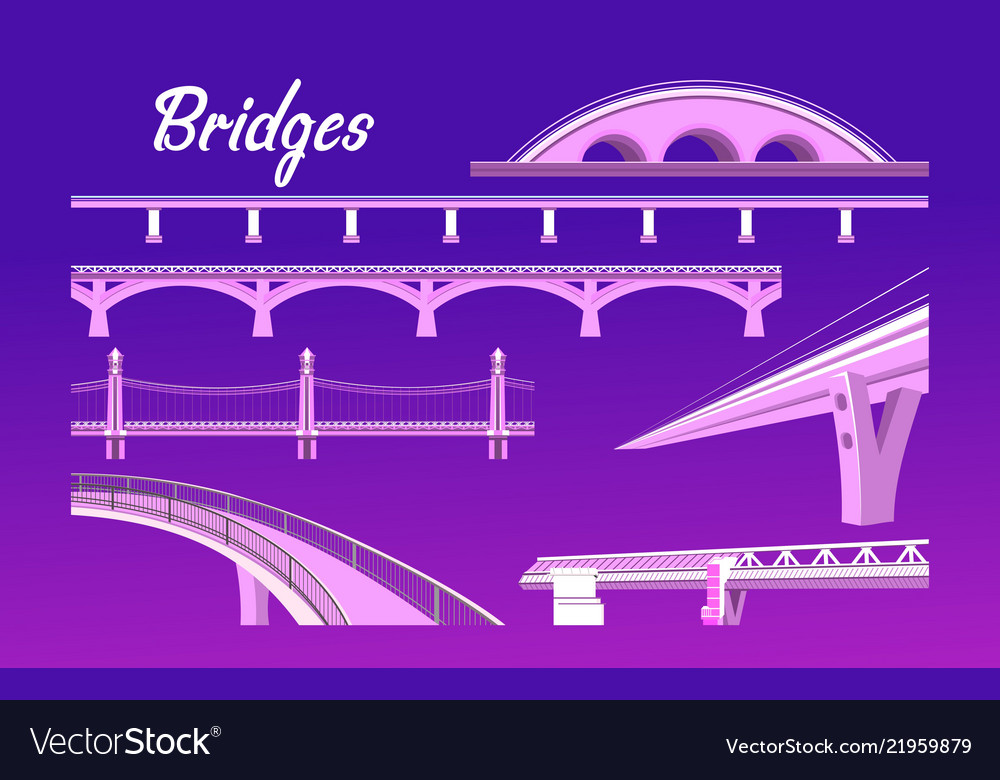 Collection of isolated bridges