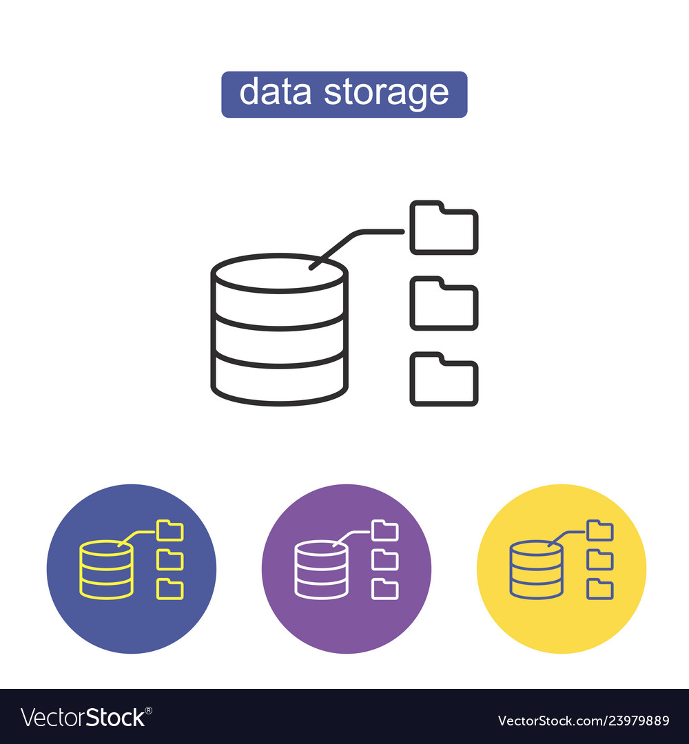Data storage with files