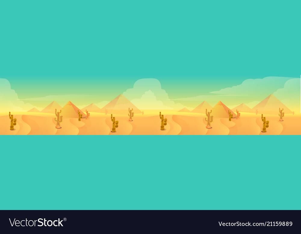 Desert landscape for your