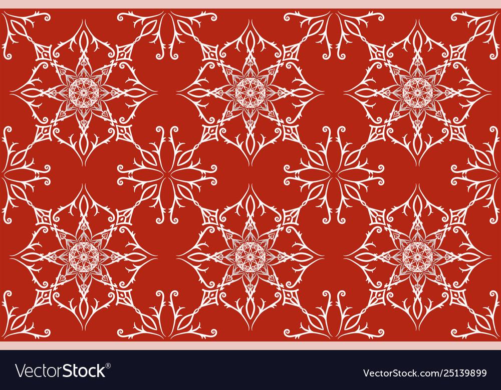 Beautiful retro floral seamless pattern hand
