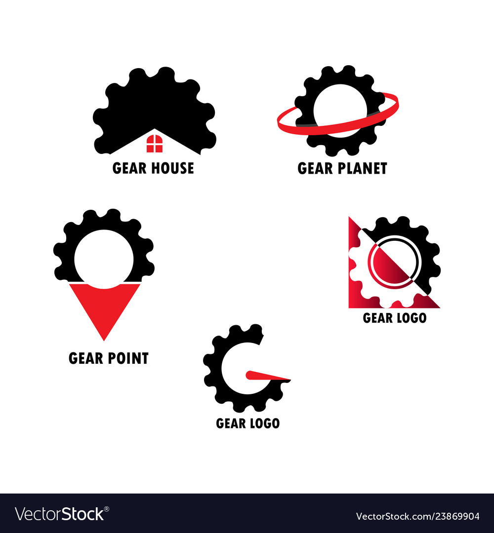 Gear set logo