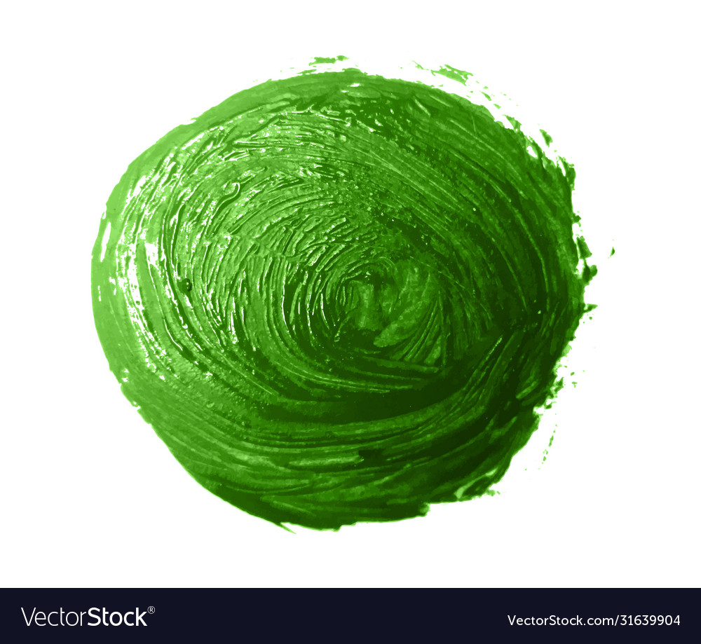 Green brush strokes - backdrop for your text