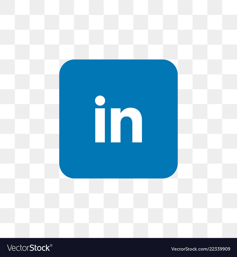 Linkedin Social Media Icon Design Template