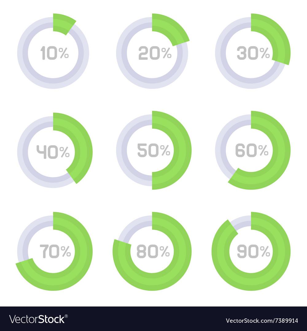 Circle Diagram Pie Charts Infographic Elements