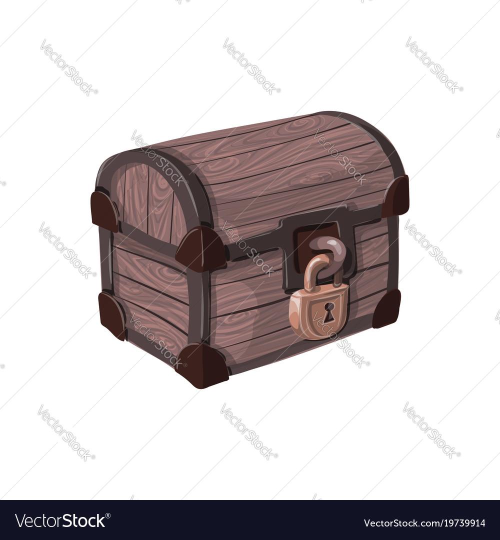 Hand drawn pirate chest