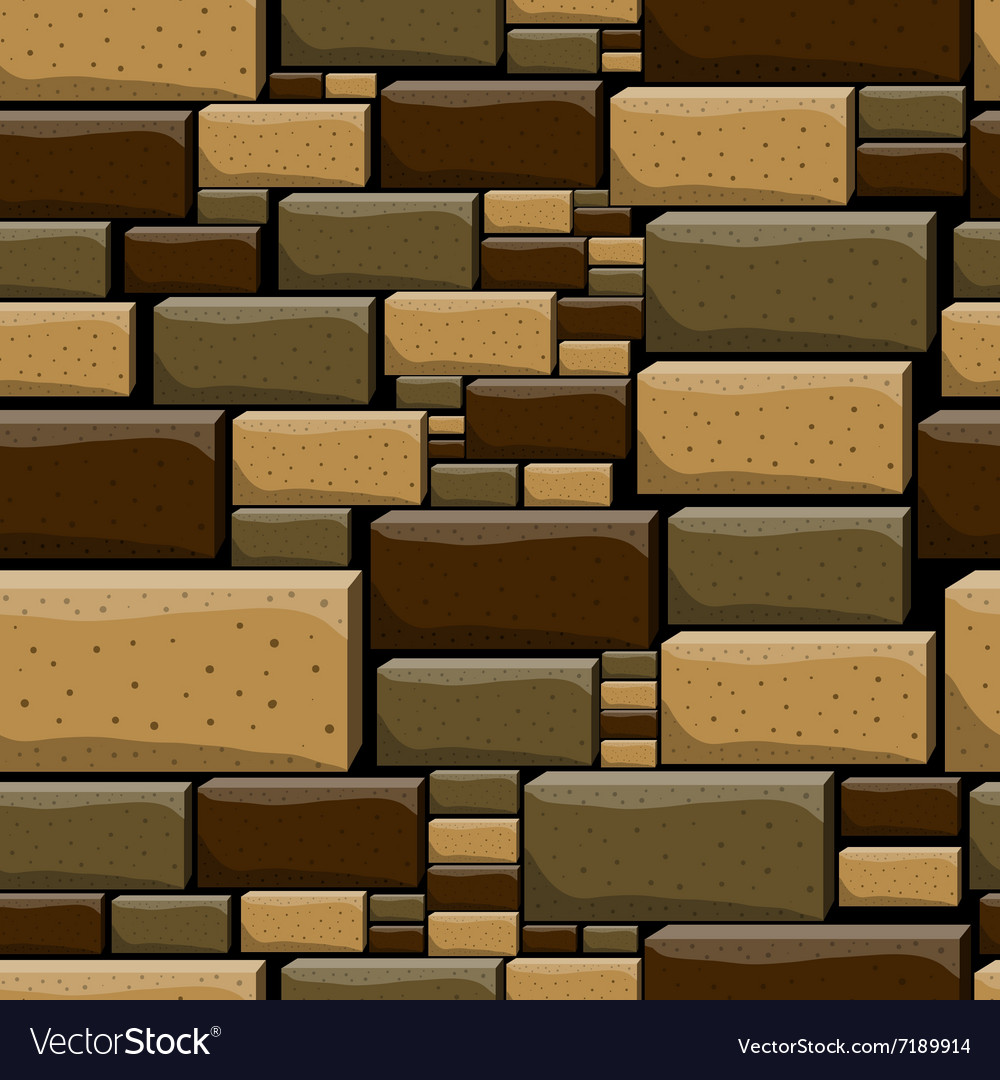 awesome Decorative Stone Wall Part - 13: VectorStock