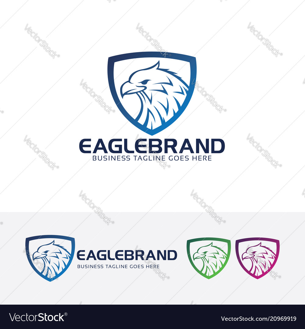 Eagle brand logo design
