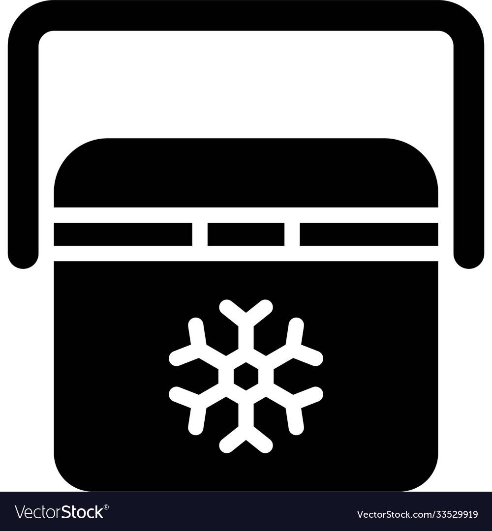 Ice box icon summer vacation related