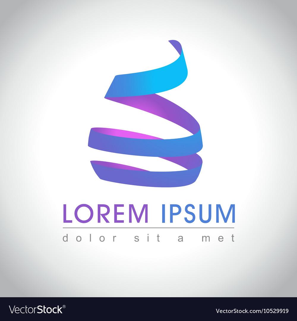 Swirl logo sample
