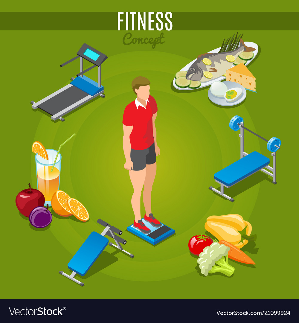 Isometric fitness concept