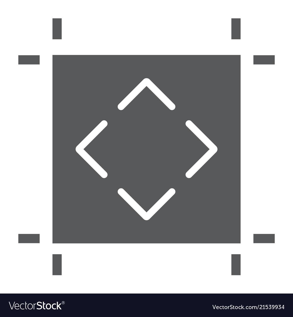 Artboard glyph icon tools and design board sign