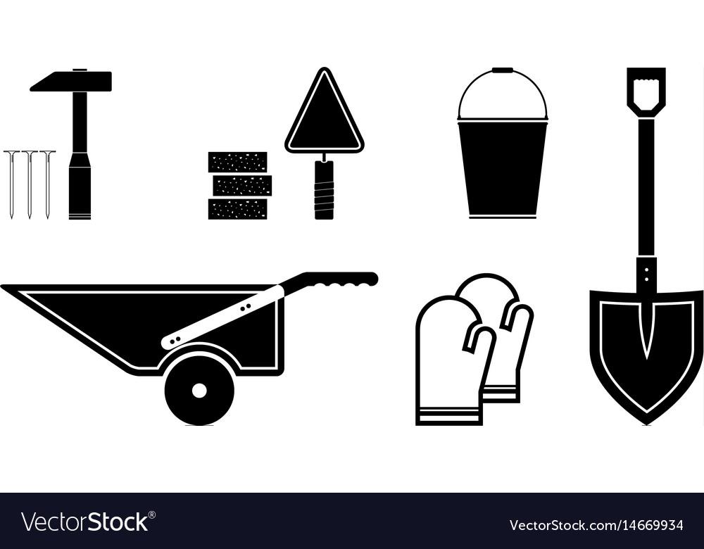 Black tools icon