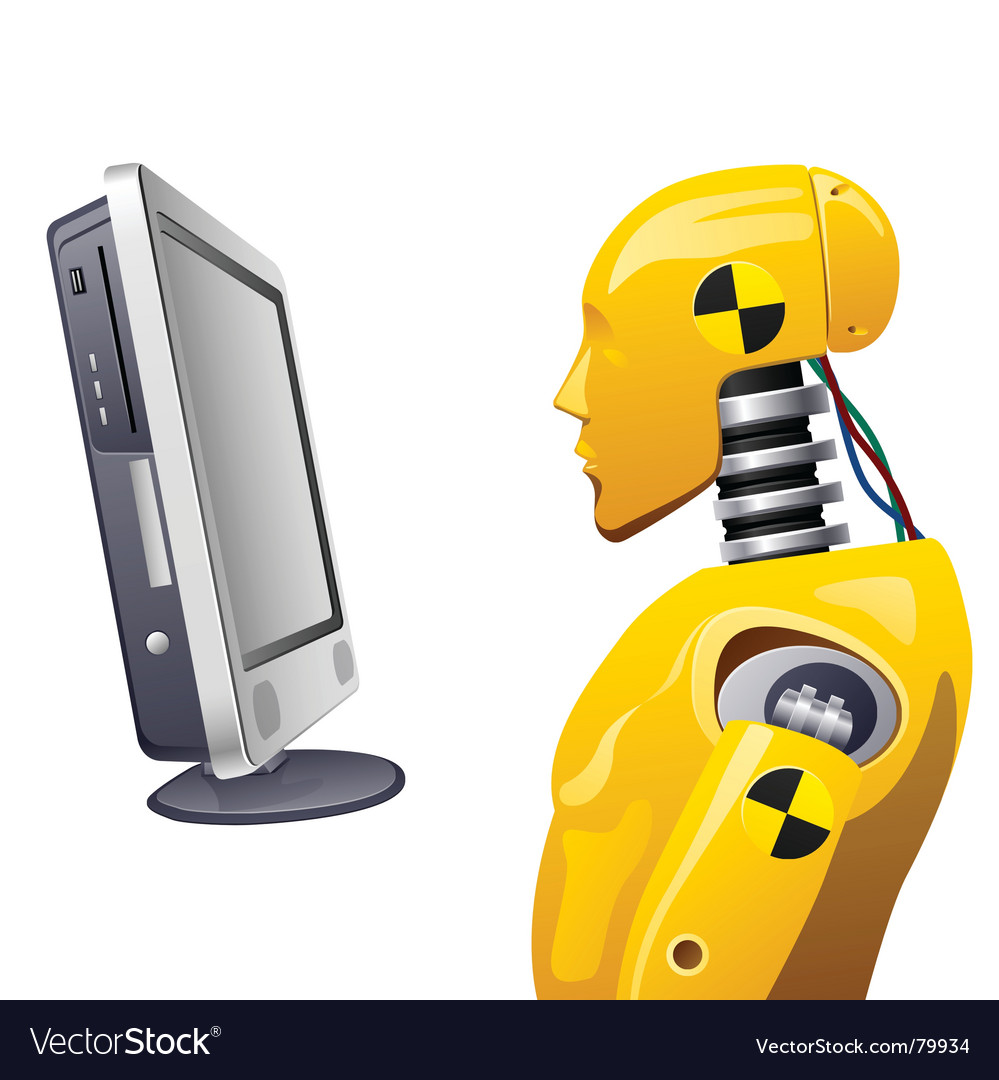 Crash Test Dummy Royalty Free Vector Image Vectorstock