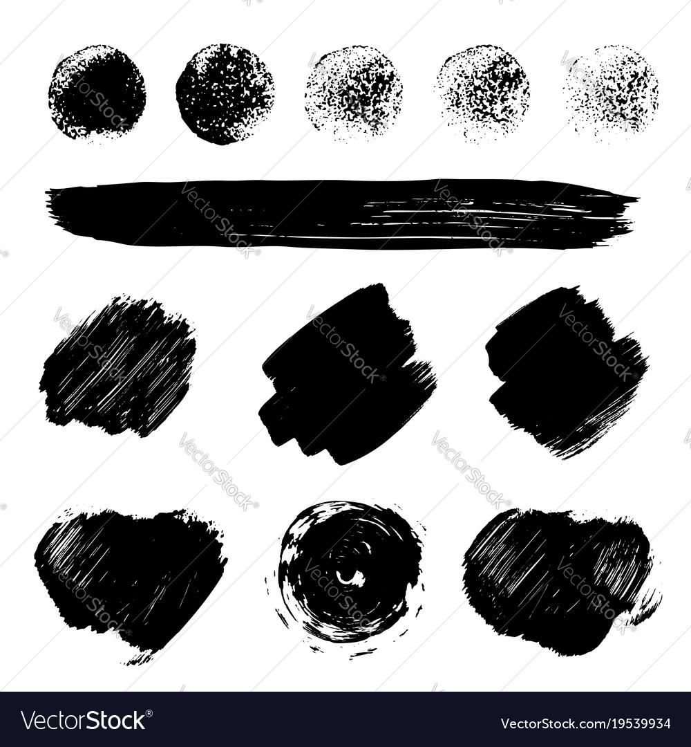 Paint brush strokes texture