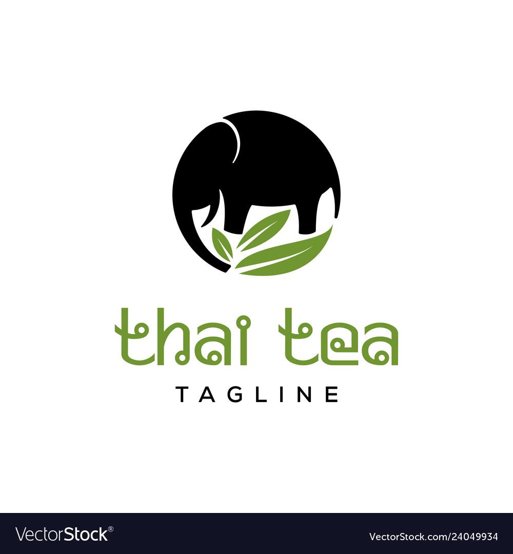 Thai tea logo