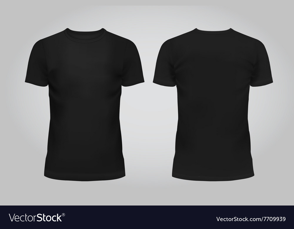Design template black men T