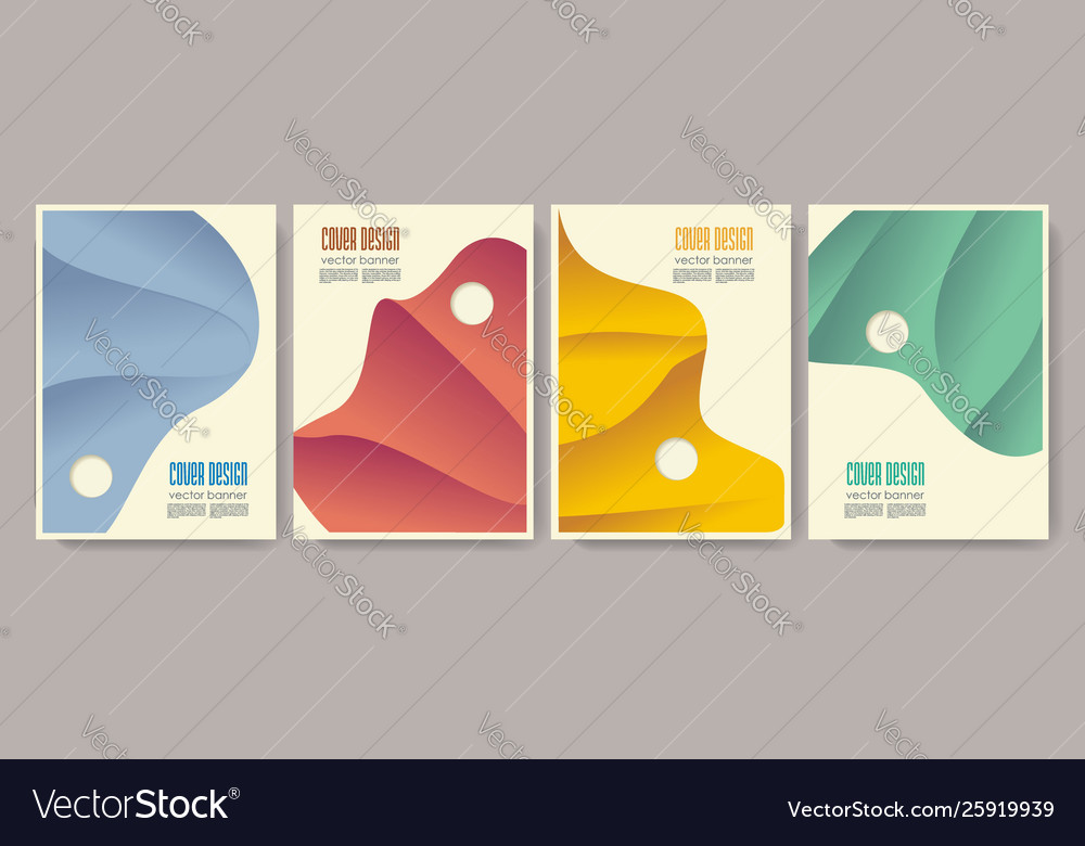 Design templates for a4 covers banners flyers and