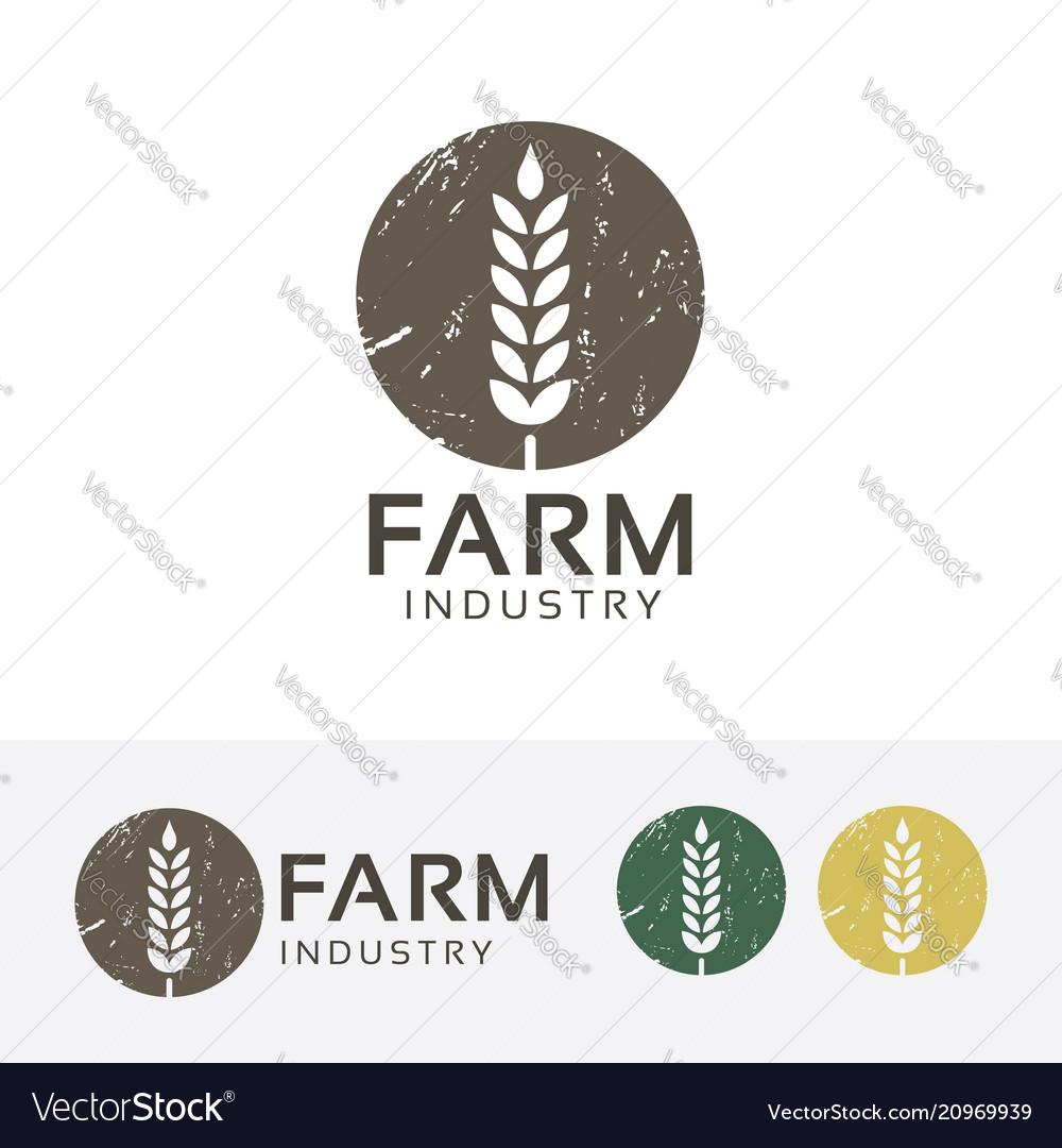 Farm industry logo design