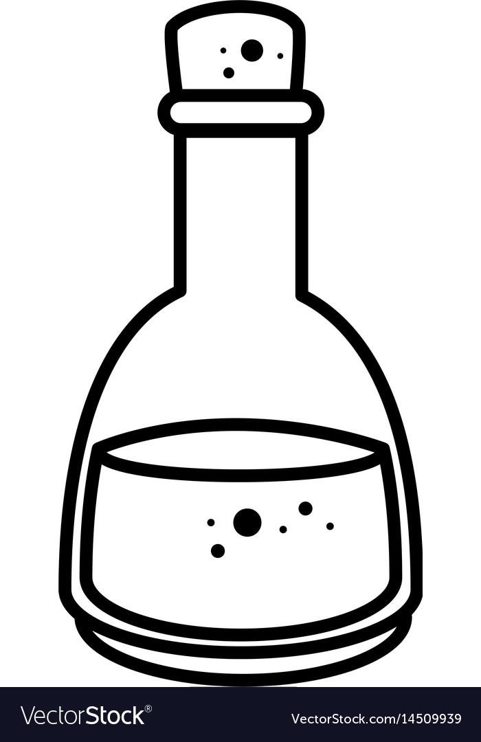 Spa oil bottle