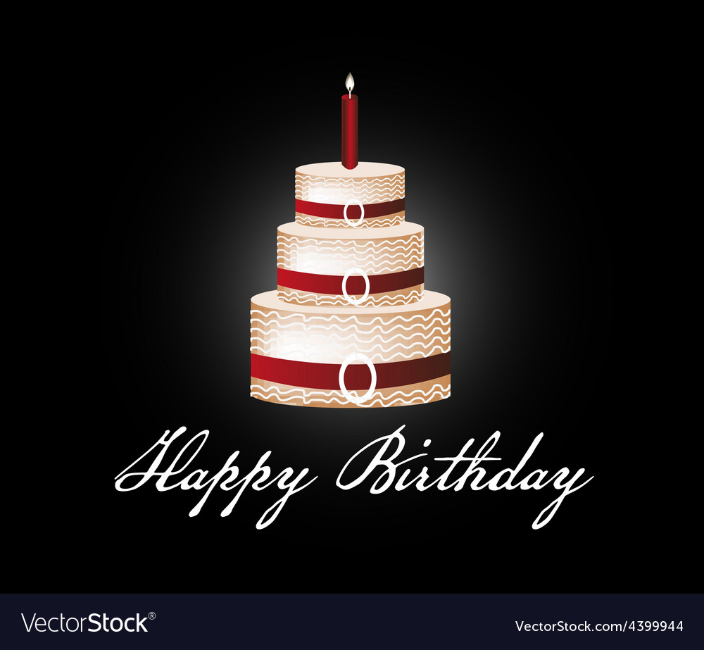 Tremendous Happy Birthday Cake Background Royalty Free Vector Image Funny Birthday Cards Online Alyptdamsfinfo