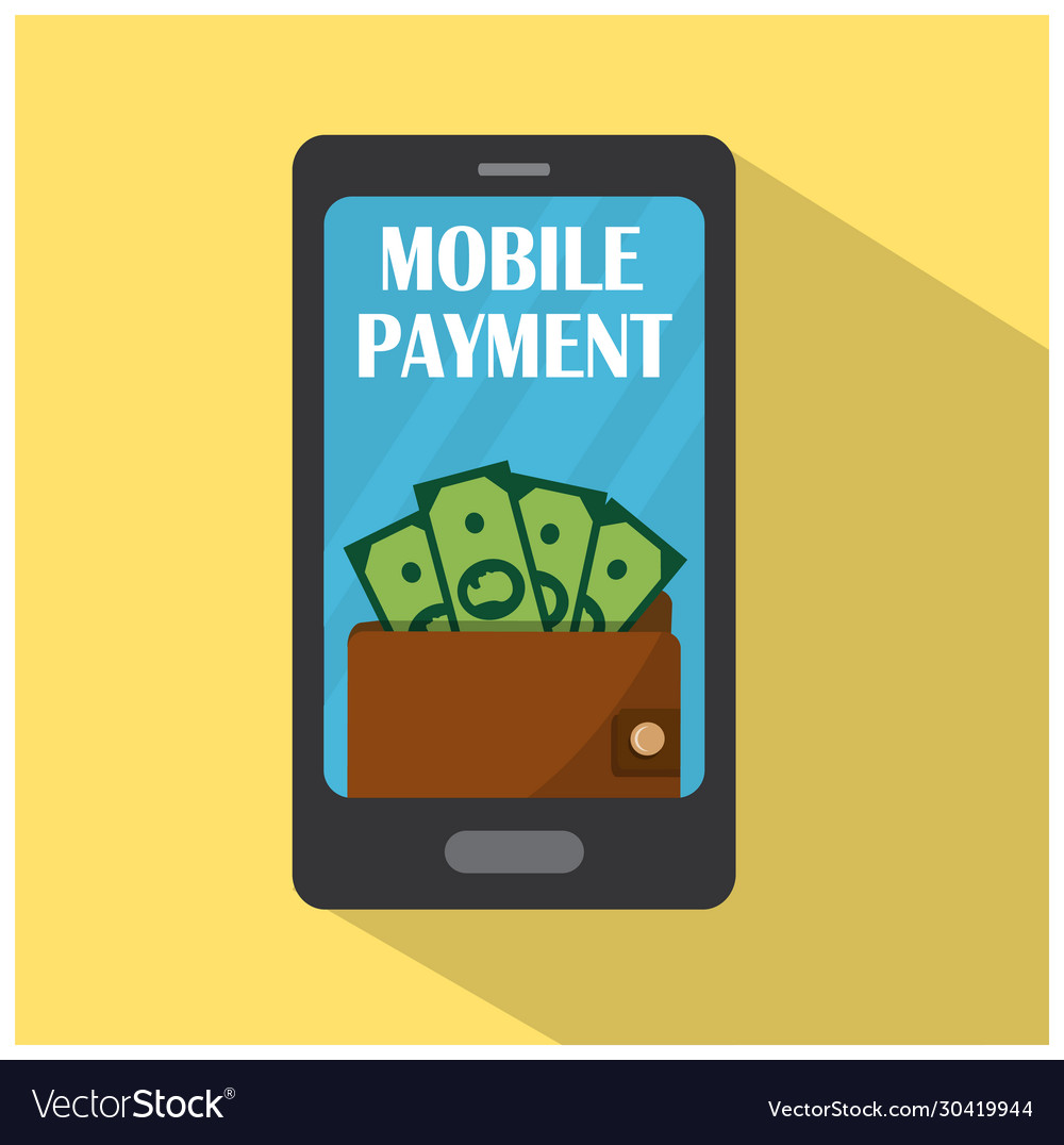 Mobile phone with wallet and money