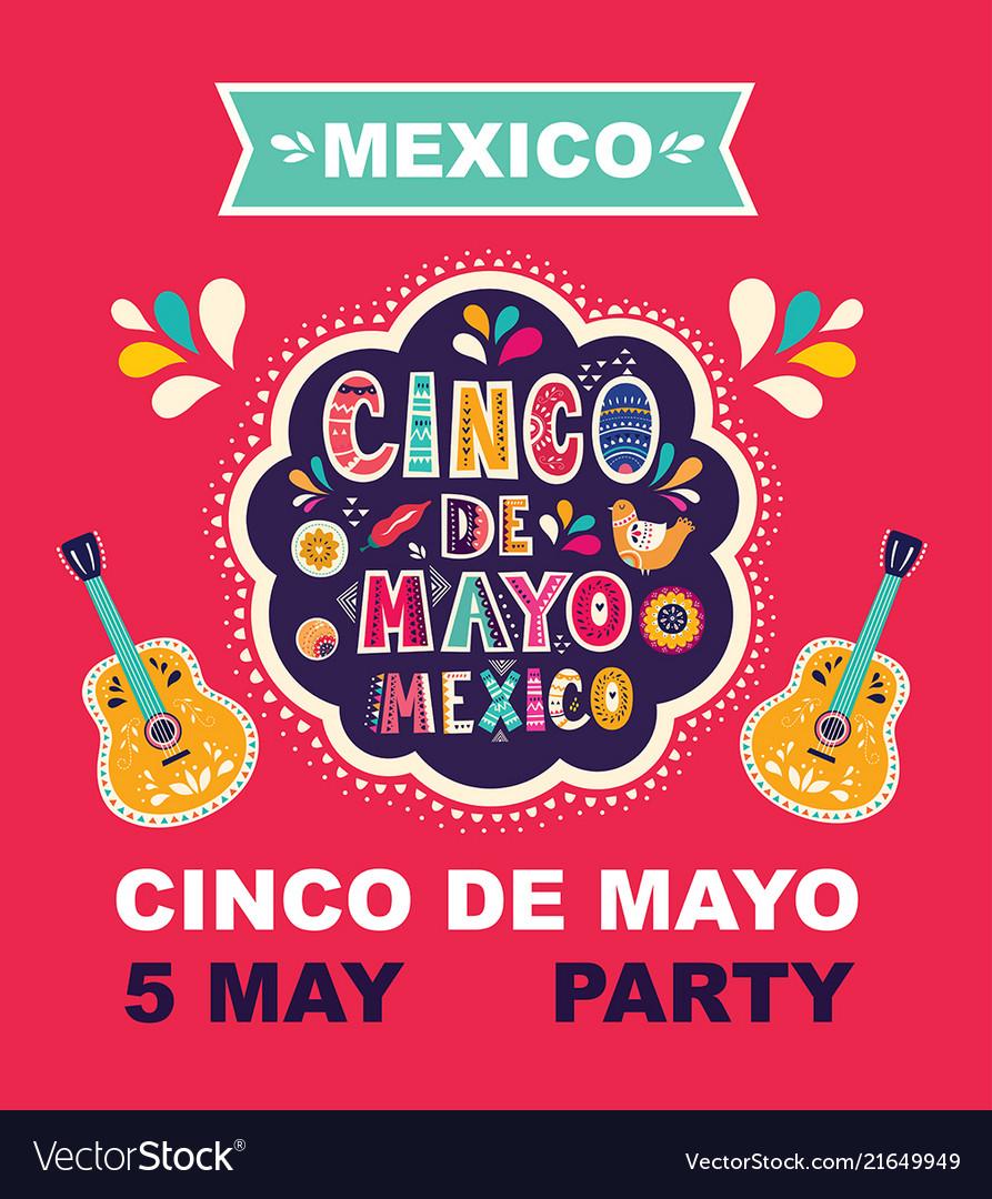 Cinco de mayo holiday