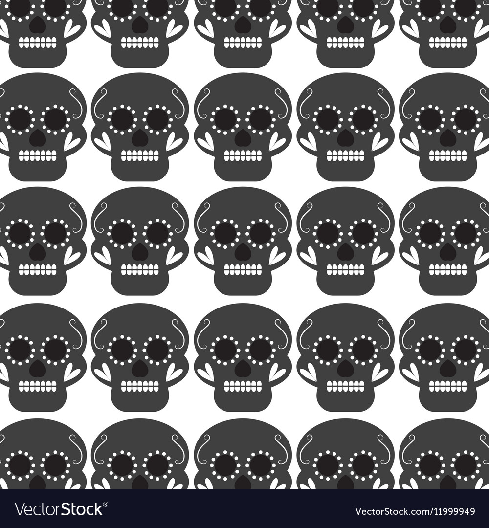 Skull mask mexican culture