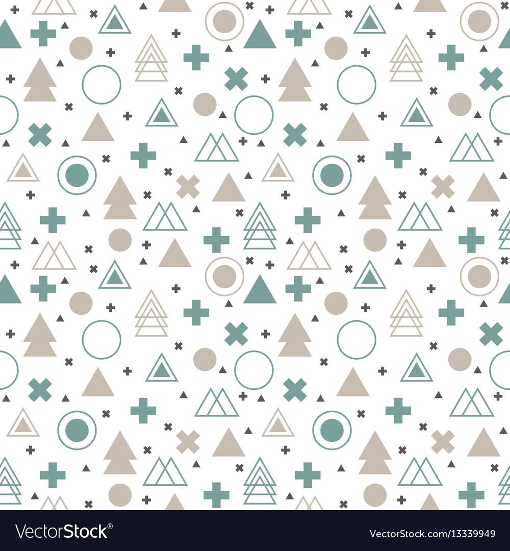 Textile tribal background geometric scandinavian