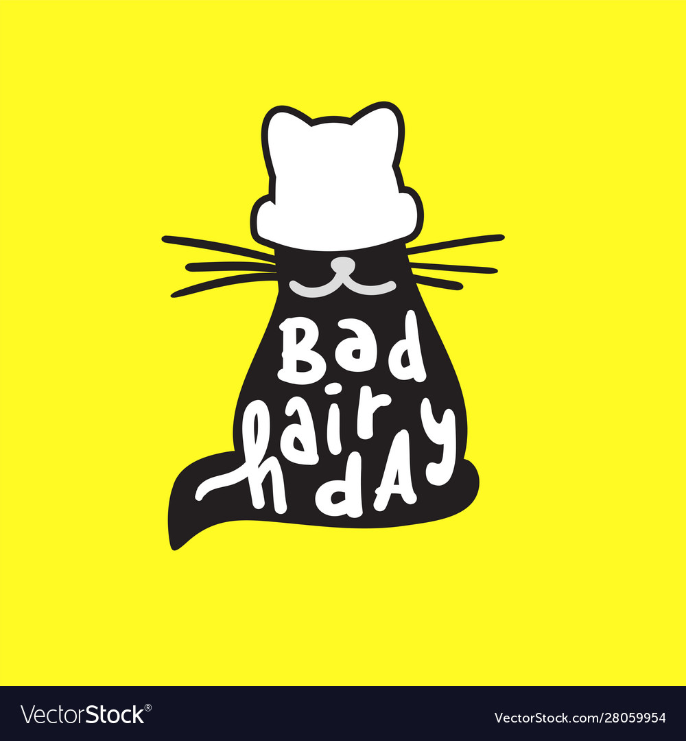 Bad hair day - funny inspire motivational quote