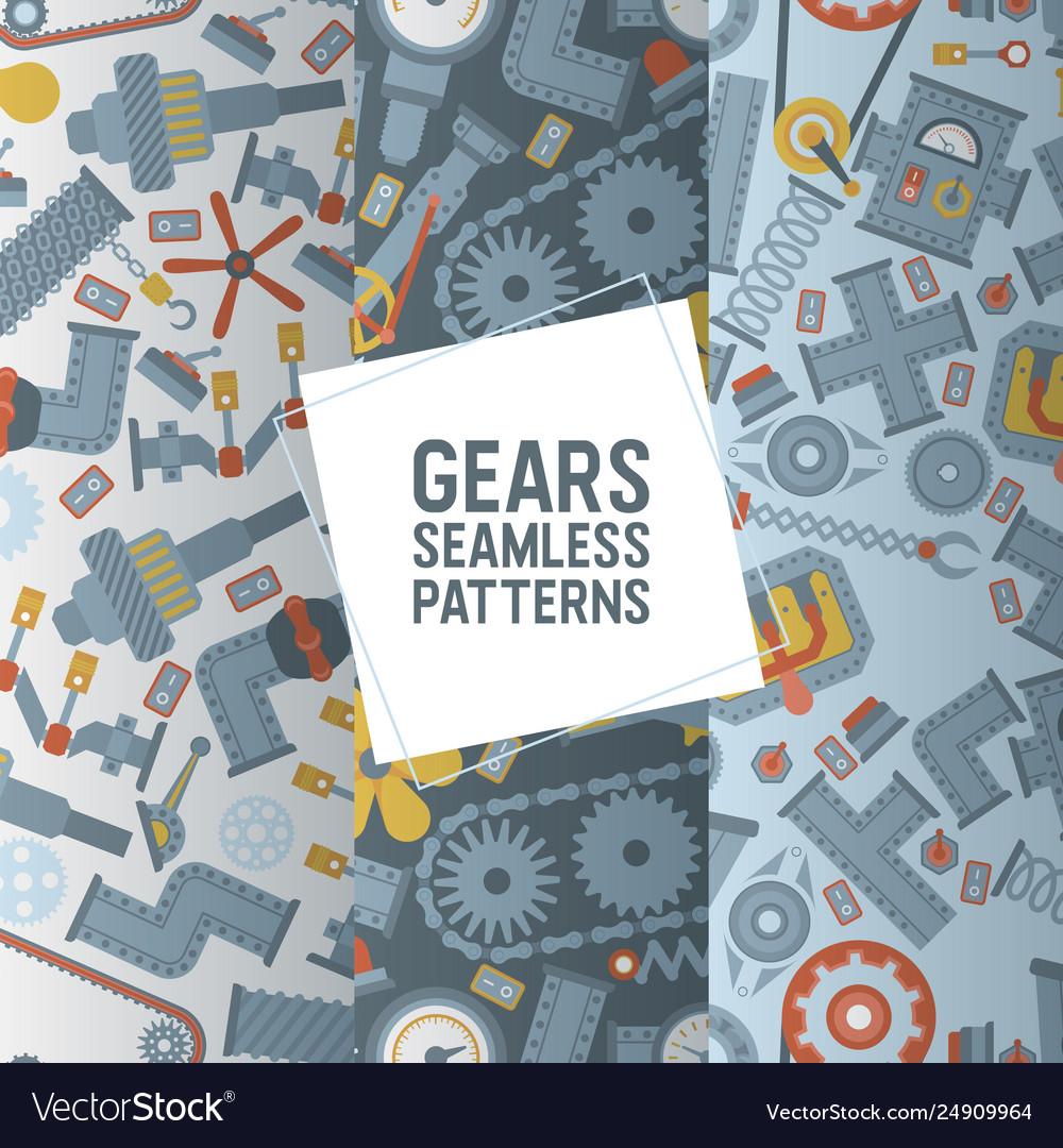 Industry seamless pattern industrial