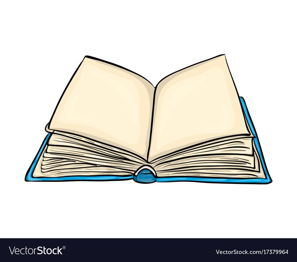 open book pictures  Open book cartoon symbol icon design beautiful Vector Image
