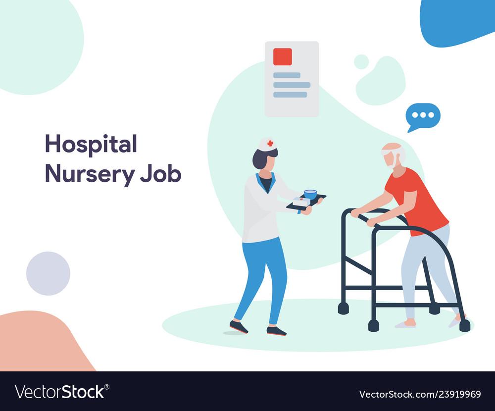 Hospital nursery job