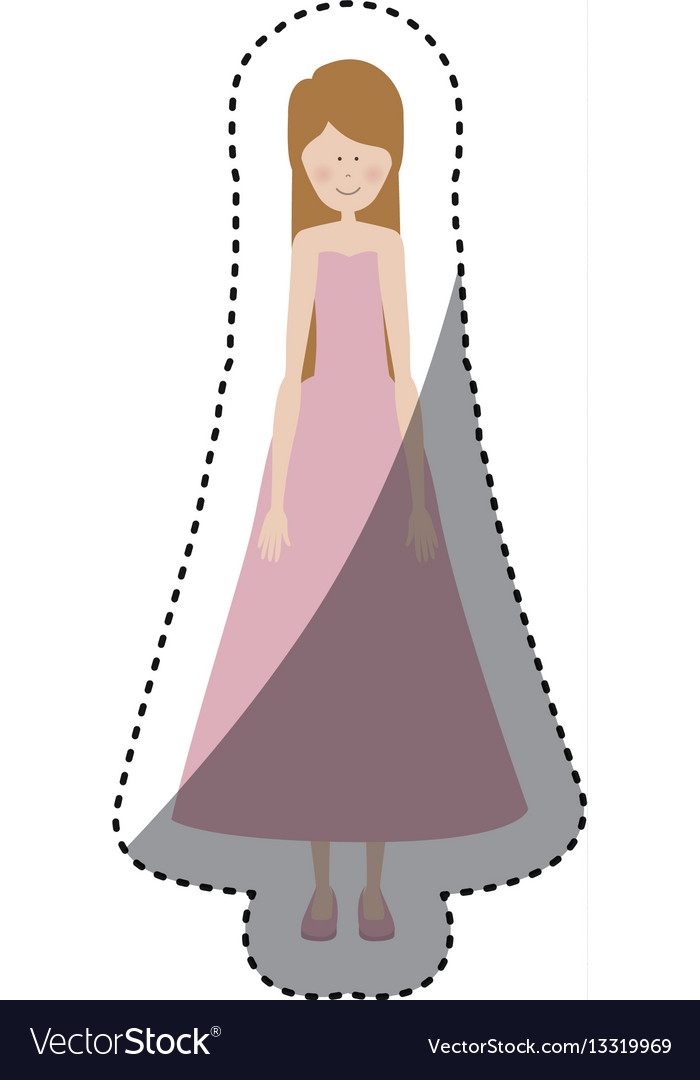 People woman icon image vector image