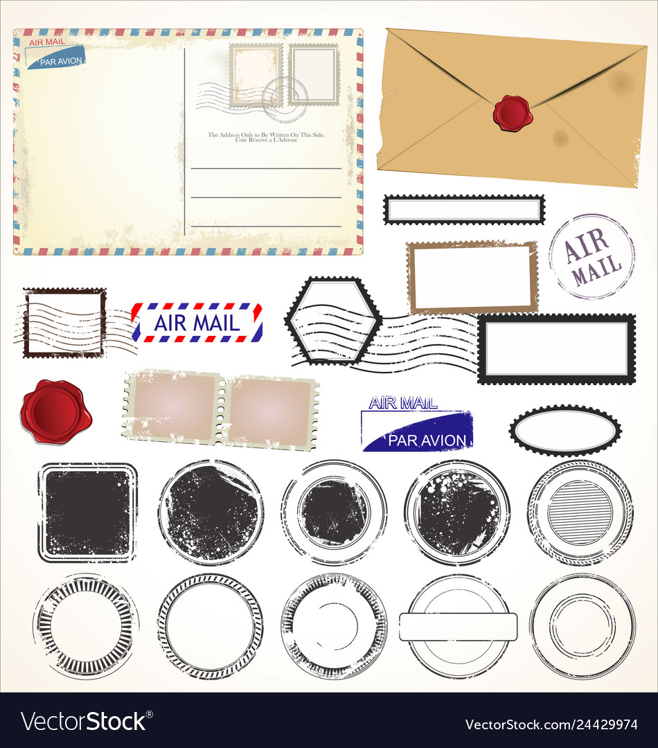 Set post stamp symbols