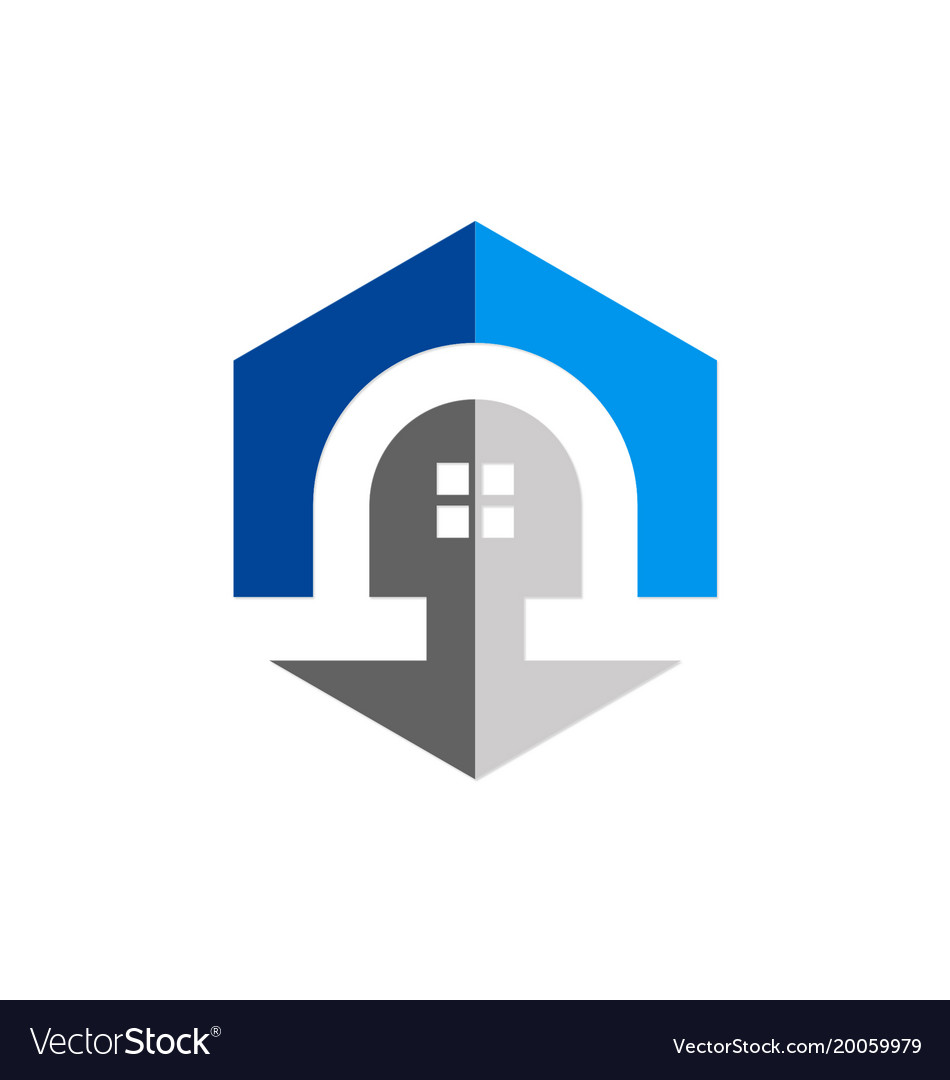 Home architecture exterior logo