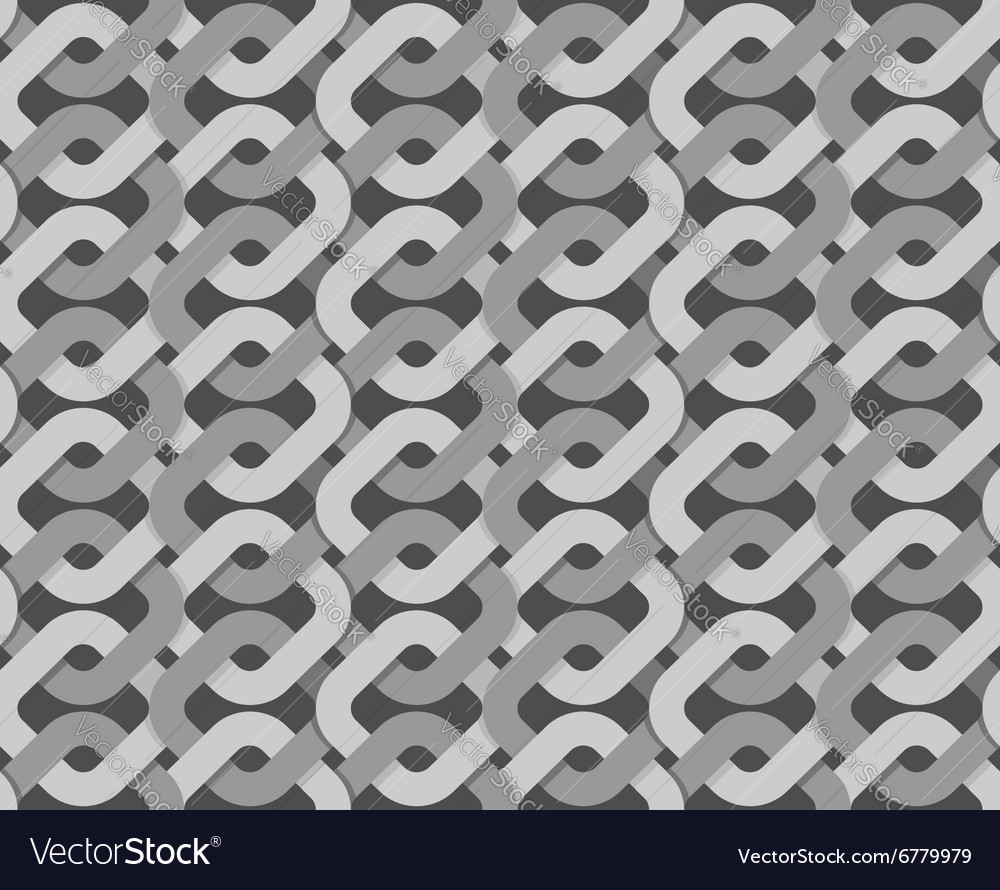 Knitted Ribbon weave background Abstract retro vector image