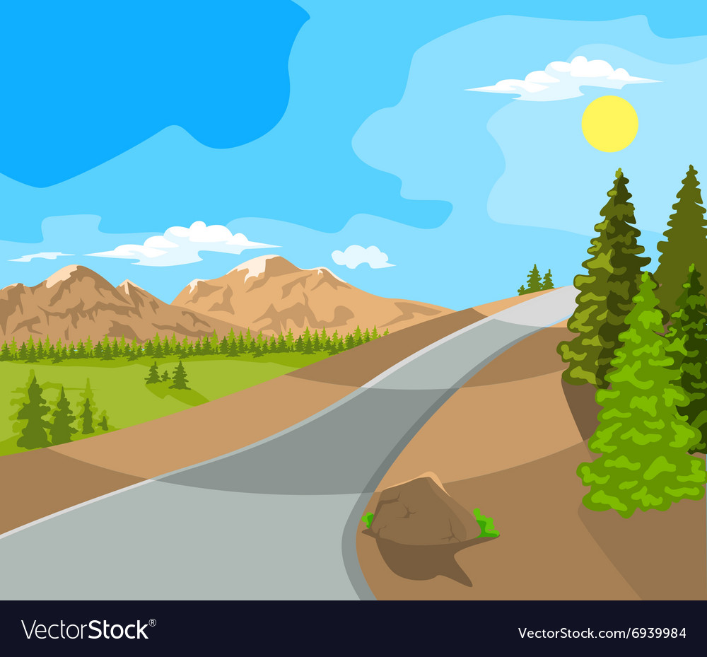 Landscape and travel
