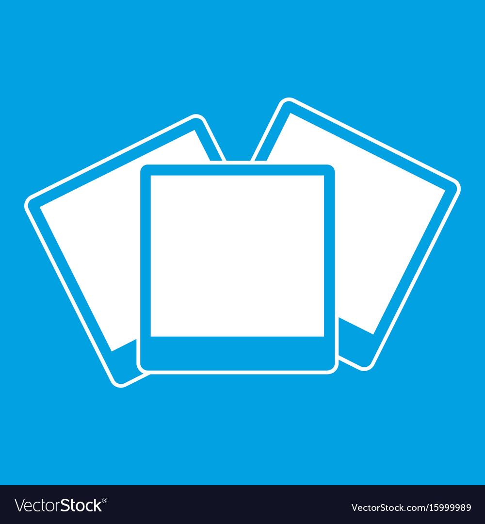 Wedding invitation cards icon white vector image
