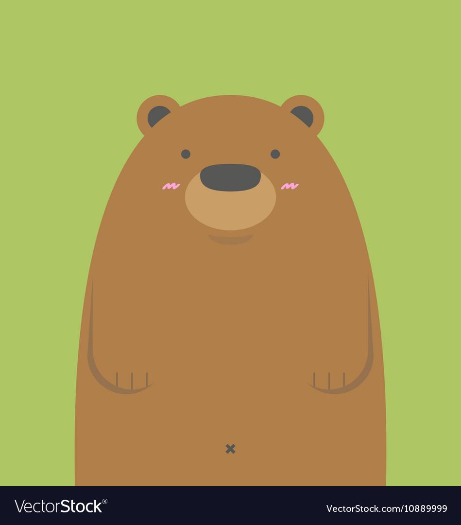 Cute Brown Bear !