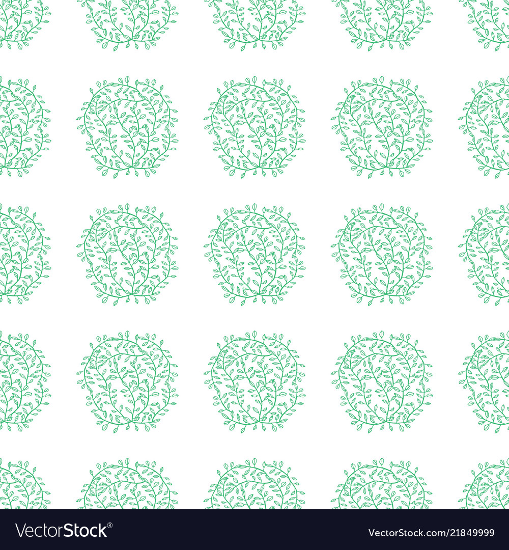 Ethnic boho hand drawn seamless floral patterns
