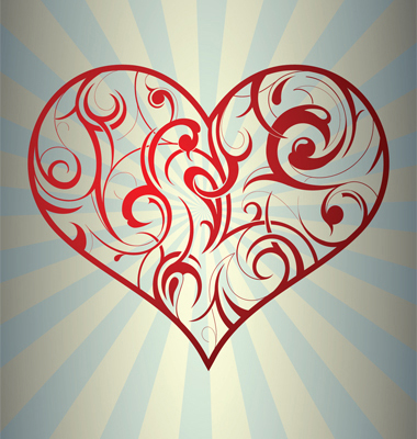 Tattoo Heart Vector. Artist: AKV; File type: Vector EPS; Contains CS file:
