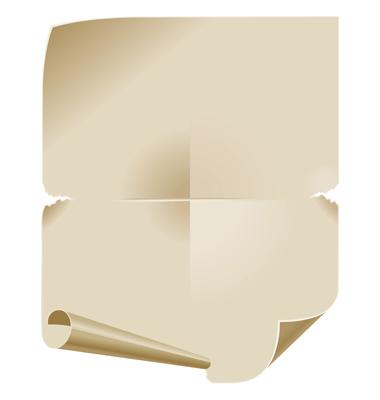 blank paper scroll. lank scroll paper