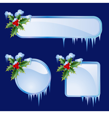 Set From Christmas Frames Vector. Artist: elenashow; File type: Vector EPS