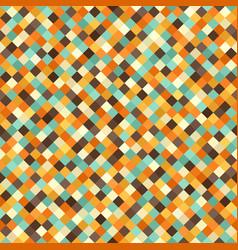diamond pattern seamless retro background vector image vector image