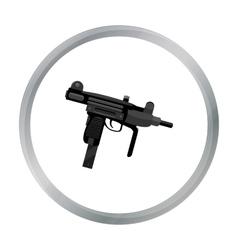 Uzi weapon icon cartoon single weapon icon from vector